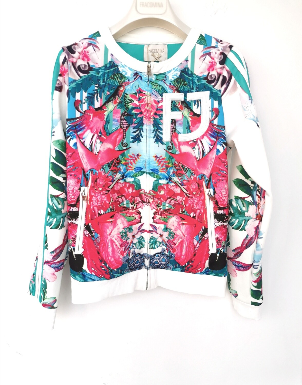 Bomber stampa floreale