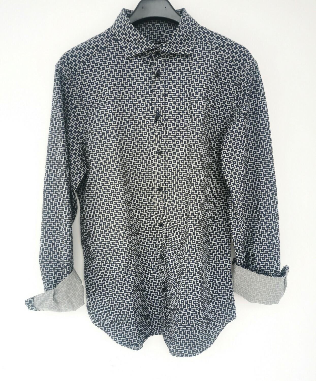 Camicia microfantasia