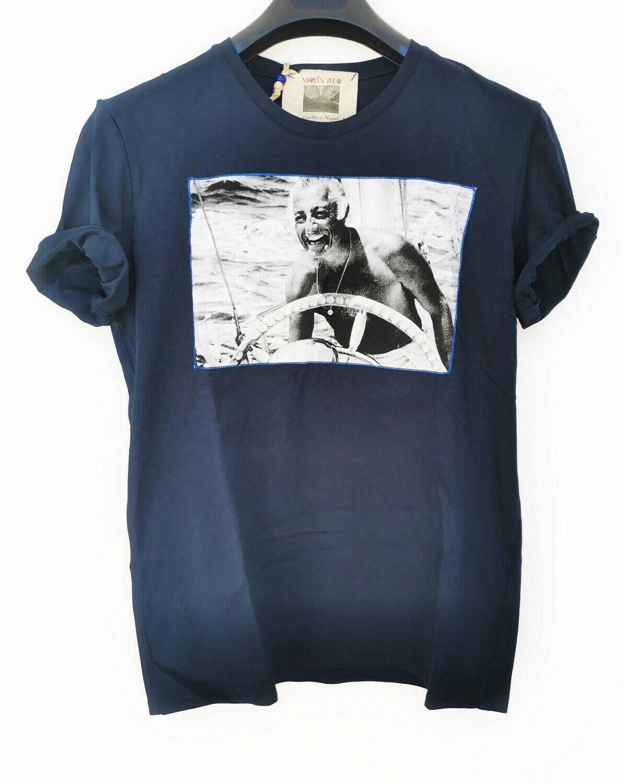 T-shirt stampa Gianni Agnelli
