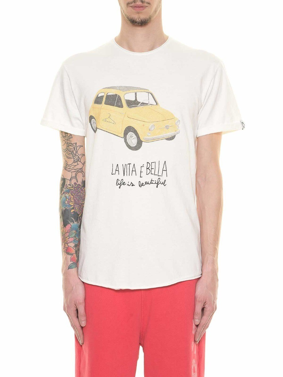 """T-shirt con stampa """"500"""""""