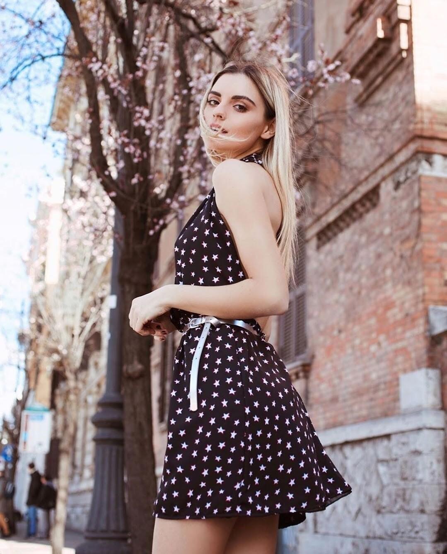 Stars patterned dress