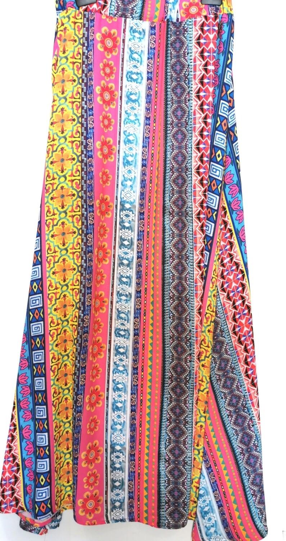 Long mix fantasy skirt