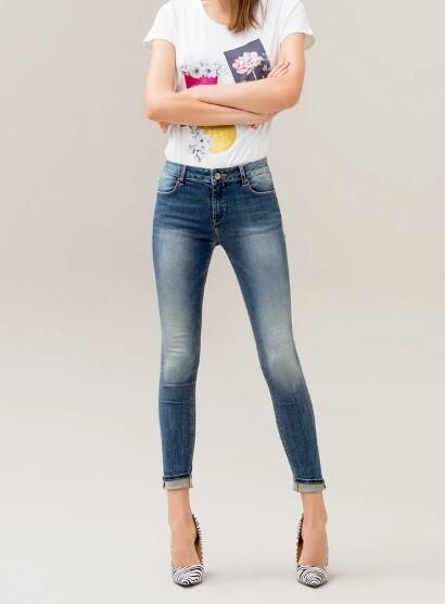 Jeans skinny vita alta jkaty