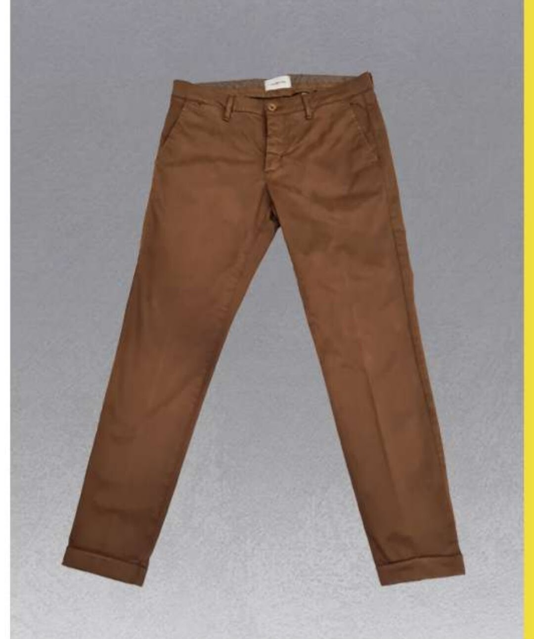 Pantalone chino armaturato