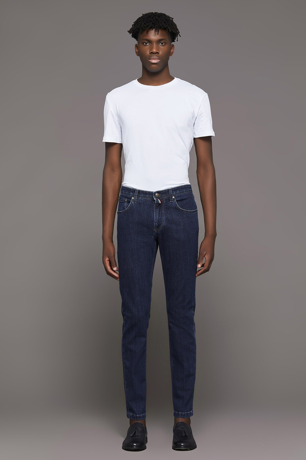 Jeans scuro slim fit