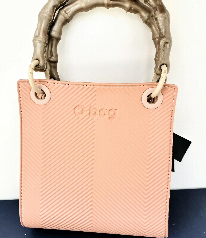 O BAG double mini texture spigata phard