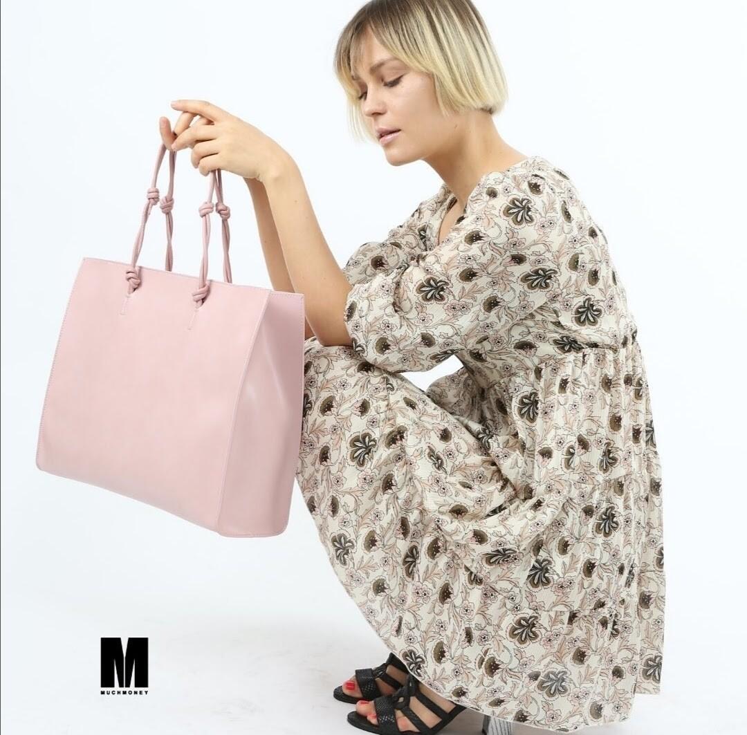 Maxi borsa in ecopelle