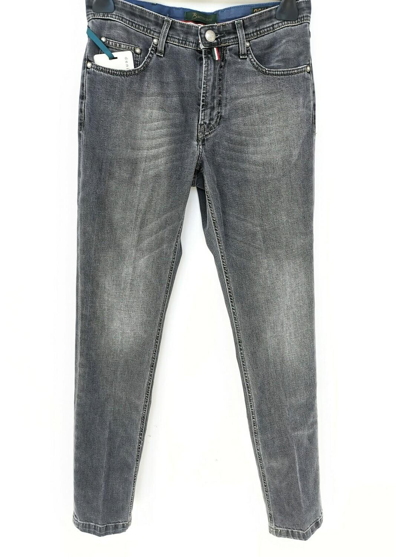 Jeans super slim fit con lavaggio grigio