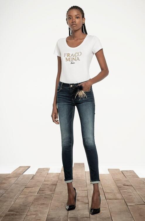 Jeans super slim a vita alta JKATY3