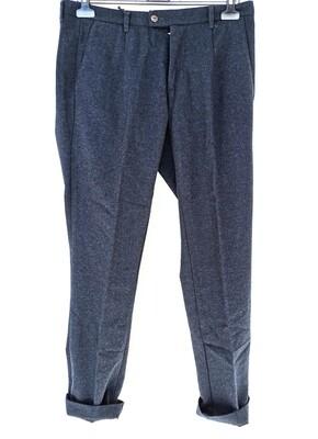 Slim fit flannel pants