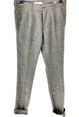 Slim fit flannel chino pants
