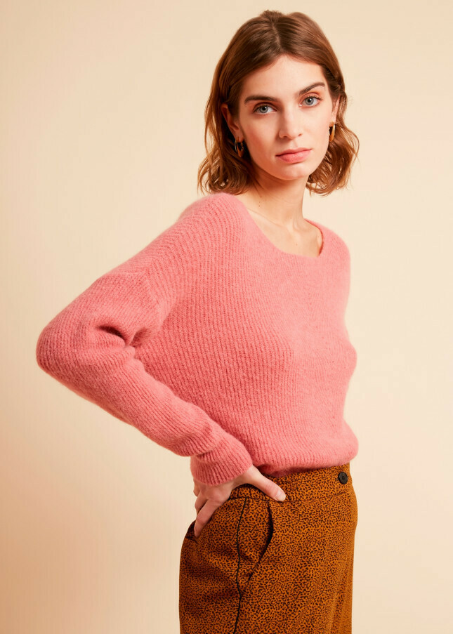 Ultra soft ribbed sweater