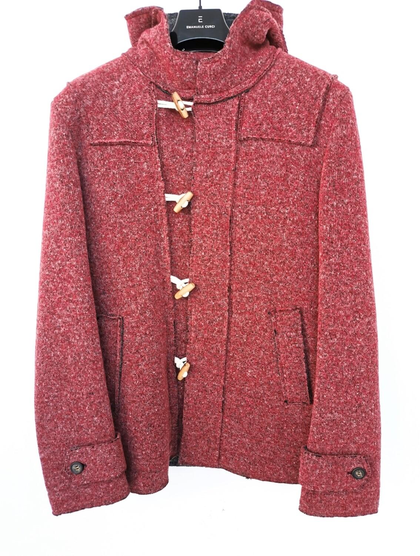 Duffle coat in boiled wool