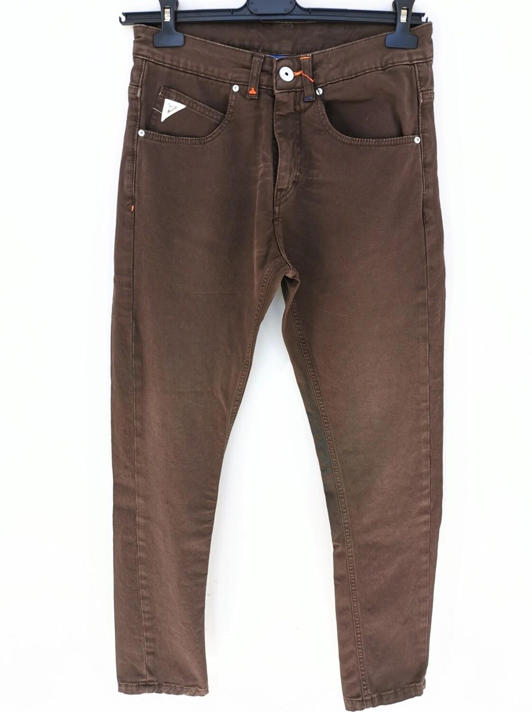 Pantalone regular in denim