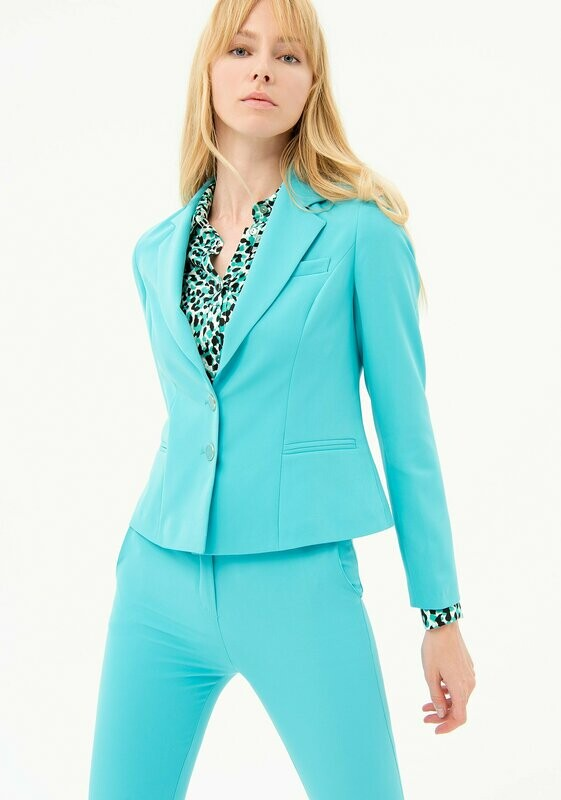 Regular stretch blazer