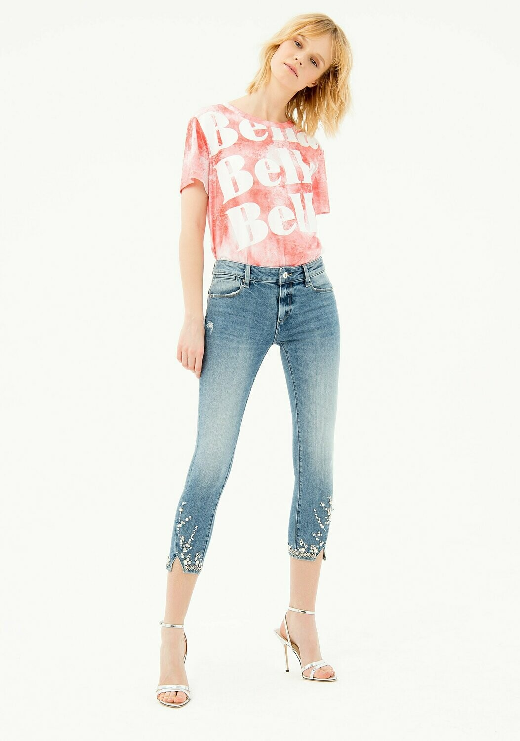 Jeans skinny betty cropped shape up