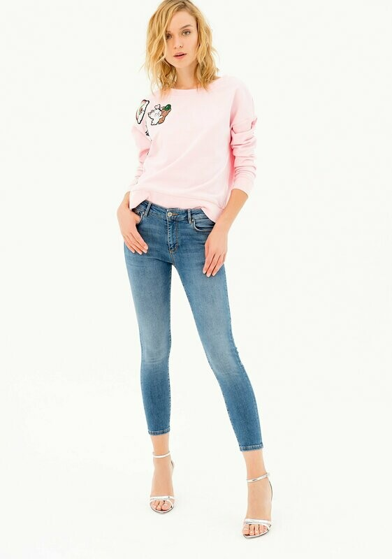 Cropped regular jeans BELLA PERFECT SHAPE