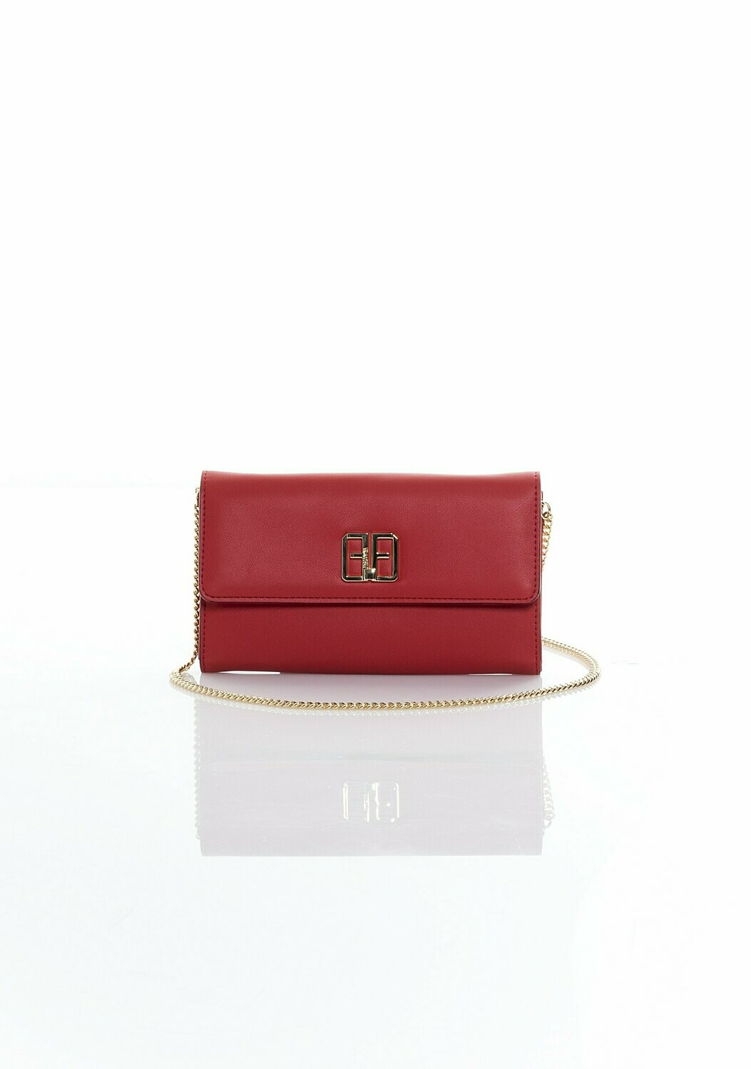 Eco leather wallet with chain