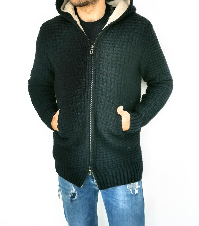 Giubbino in maglia di lana