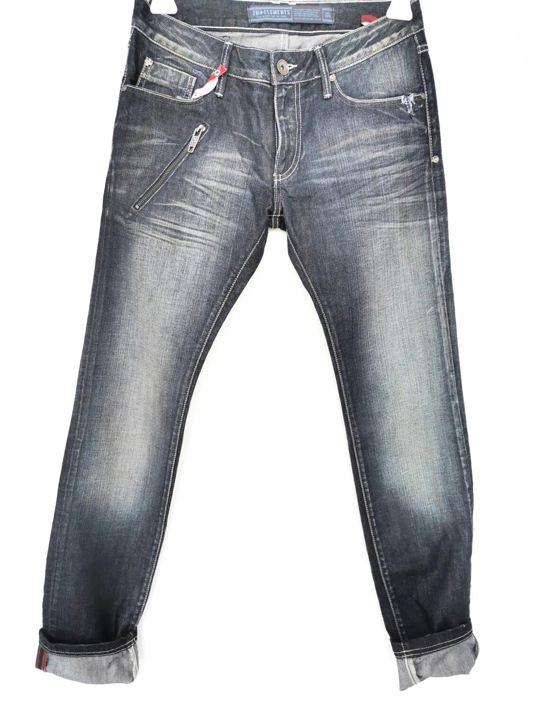Jeans super slim con lavaggio scuro