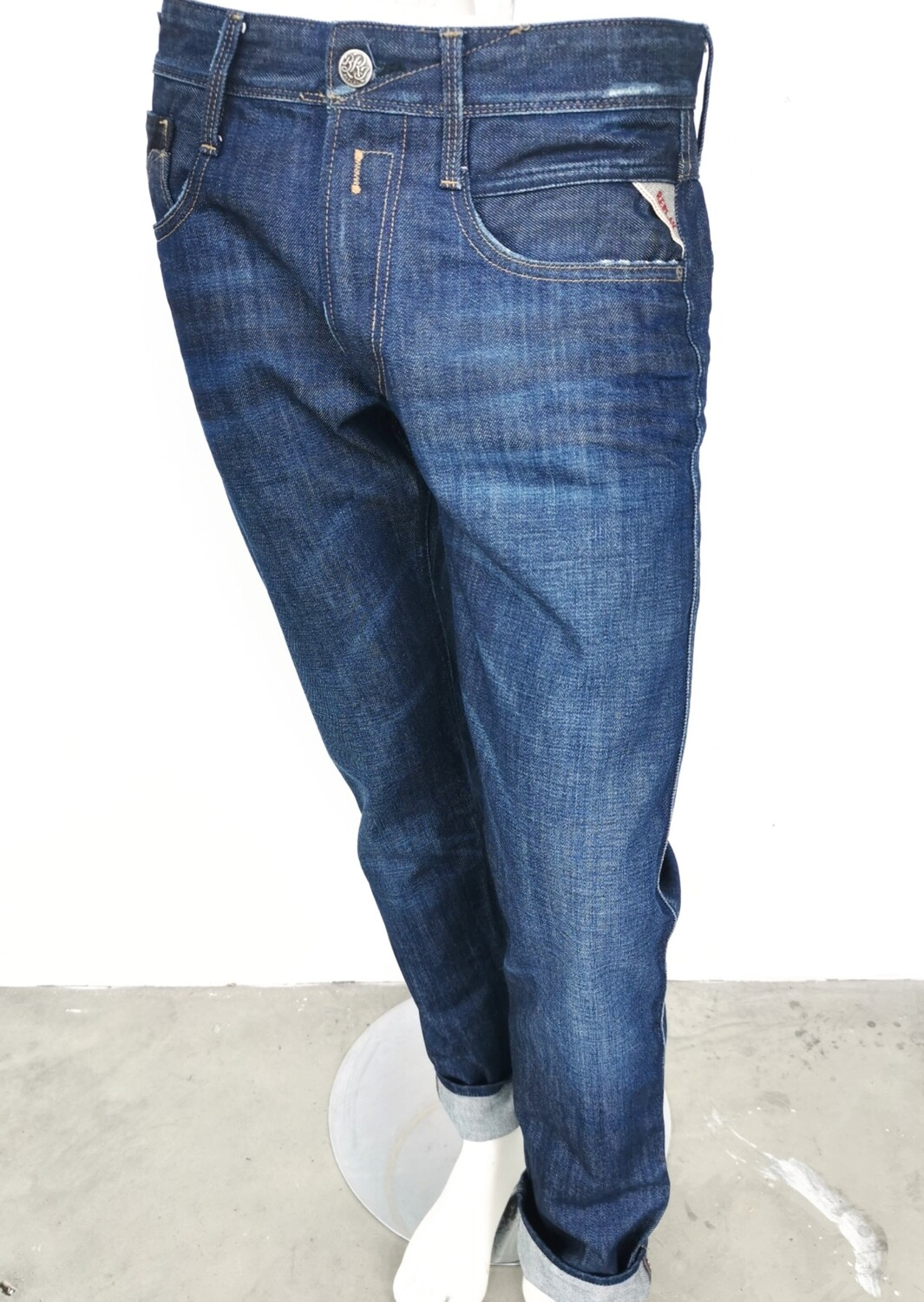 Jeans REPLAY ANBASS in rigid denim