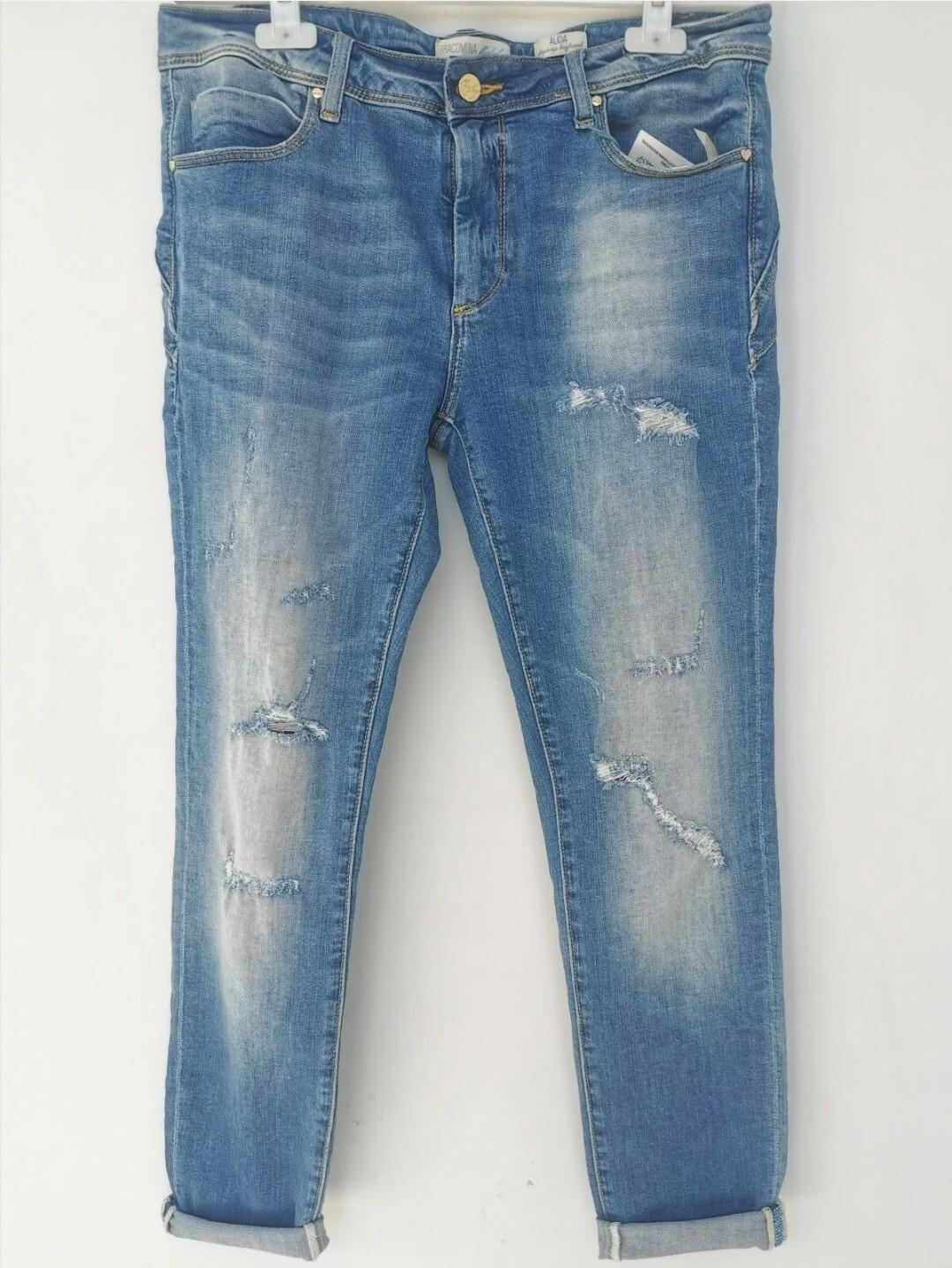 Jeans shape up boyfriend