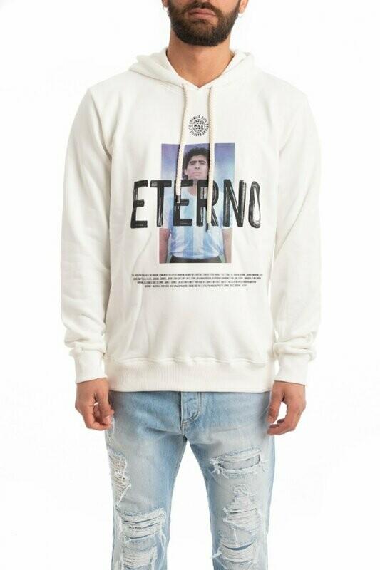 Eternal Maradona print sweatshirt