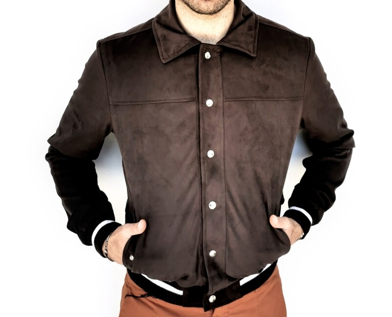 Bomber college jacket