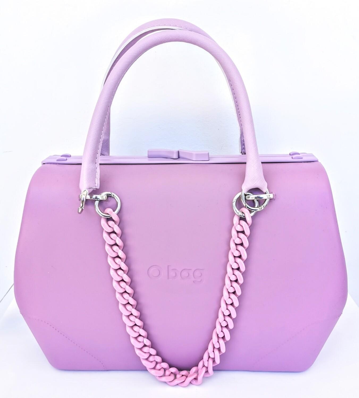 O bag doc with plexiglass groumette chain