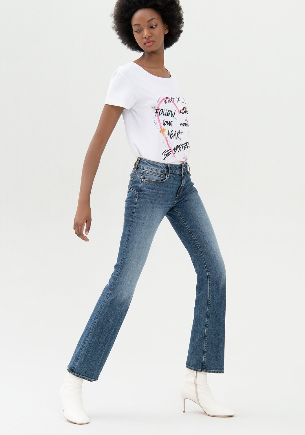Jeans Bella perfect bootcut shape up