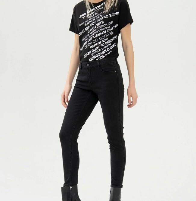 Jeans skinny shape up in denim stretch