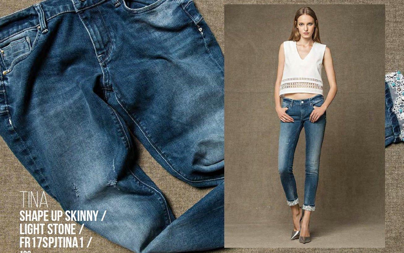 Jeans shape up skinny