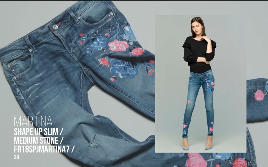 Fracomina jeans shape up slim
