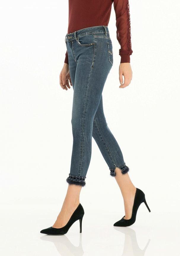 Short skinny jeans Fracomina