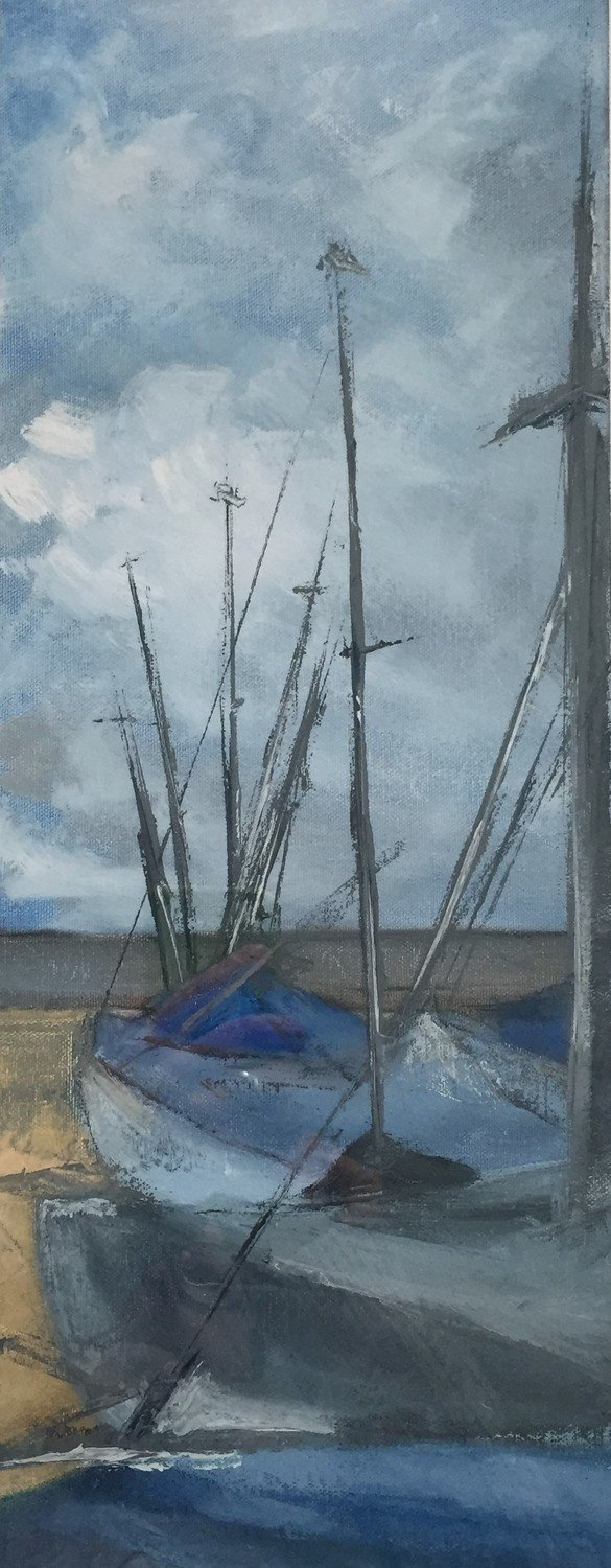 Sailing boats, Whitstable