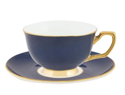 Teacup & Saucer : Navy