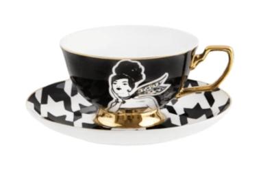 Teacup & Saucer : Lucille