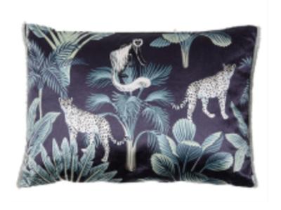 Cushion : Cheeta Black Multi