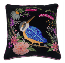Cushion : Velvet Kingfisher