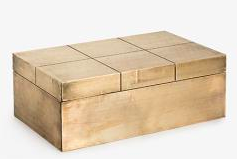 Decorative : Carved Square Box