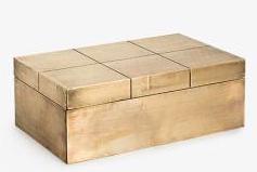 Decorative : Carved Square Box