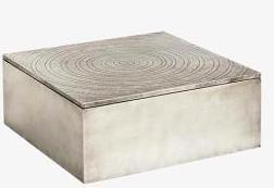 Decorative : Carved Circle Box