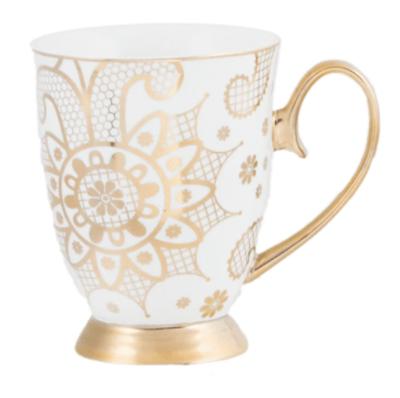 Coffee Mug : Georgia Lace Pearl