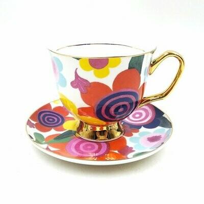 Teacup & Saucer  XL - Flourish