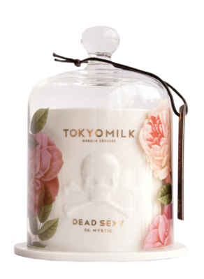 Dead Sexy No 06 - Ceramic Candle with Cloche | Mystic