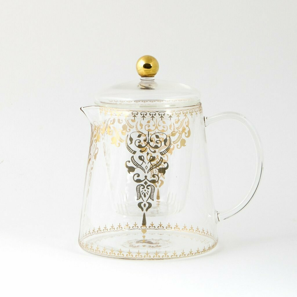 Glass teapot by LyndalT - Moroccan Design 800ml