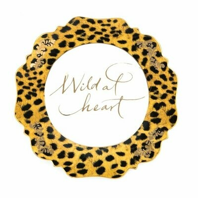 Fine China - Leopard print