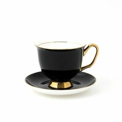 Teacup & Saucer XL - Black