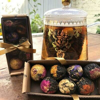 Variety 7 Pack of Flowering Tea - LyndalT