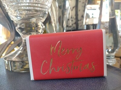 Soap : Merry Christmas  (lemongrass)